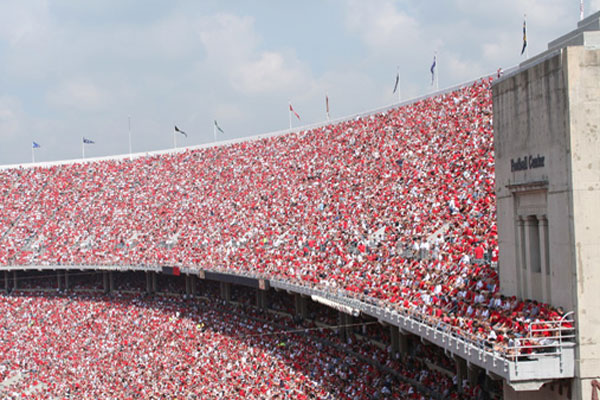 The Ohio State University Stadium. Roof Replacement Image